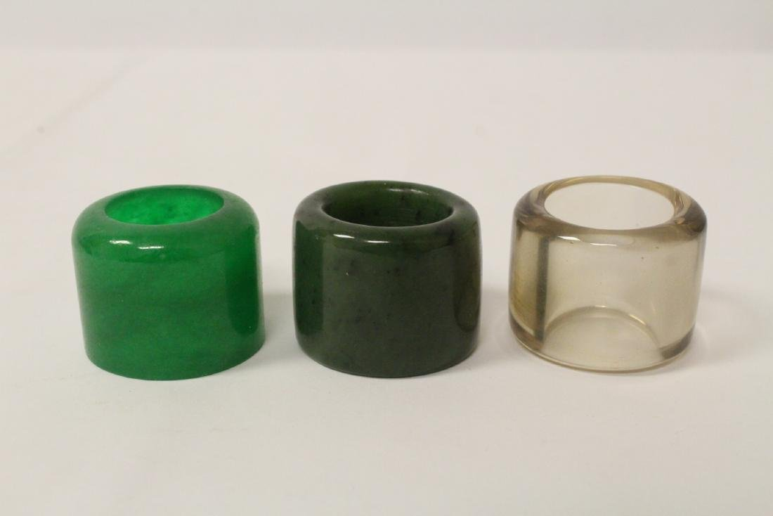 3 archer's rings