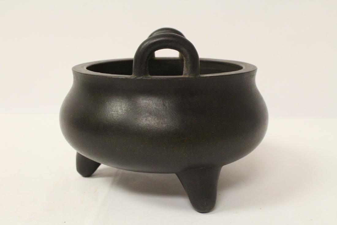 Unusual Yixing censer - 4