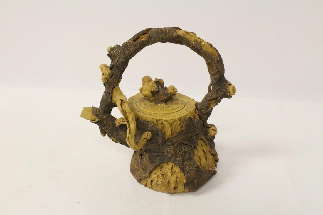 Unusual Yixing teapot