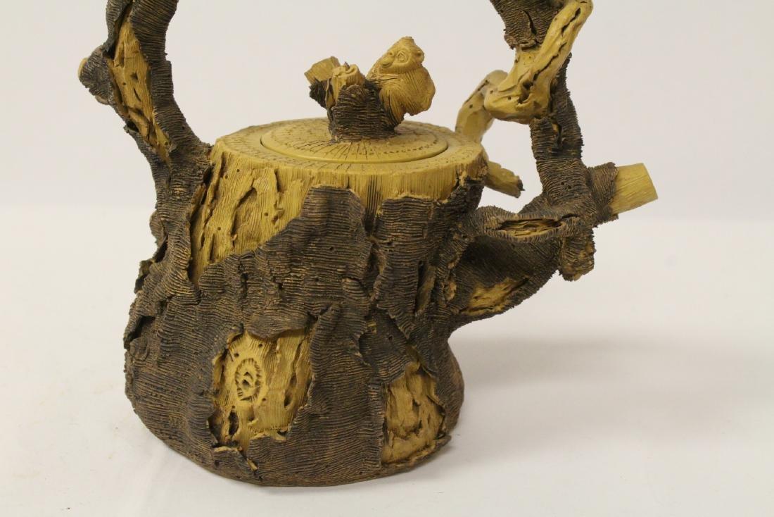 Unusual Yixing teapot - 5