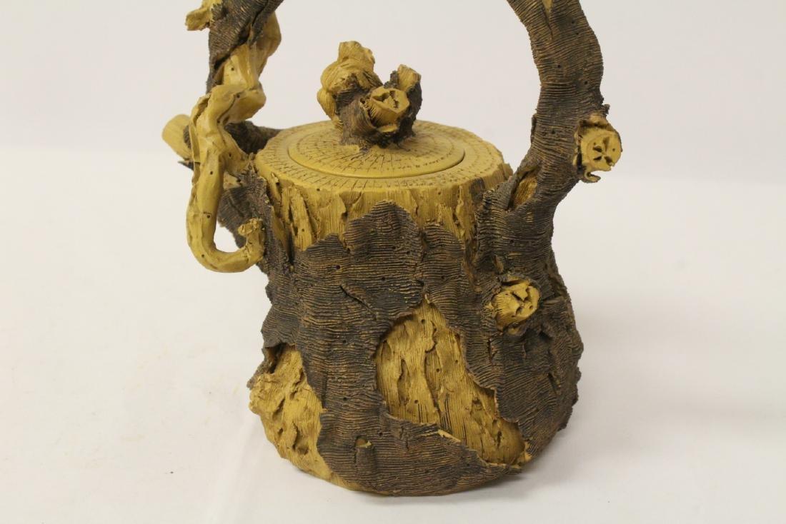 Unusual Yixing teapot - 7