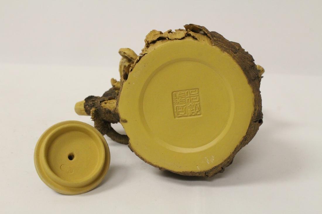 Unusual Yixing teapot - 9