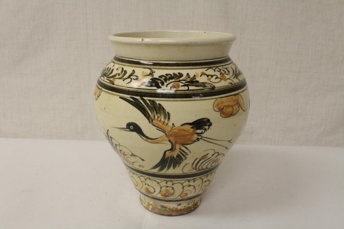 Chinese Song style painted jar