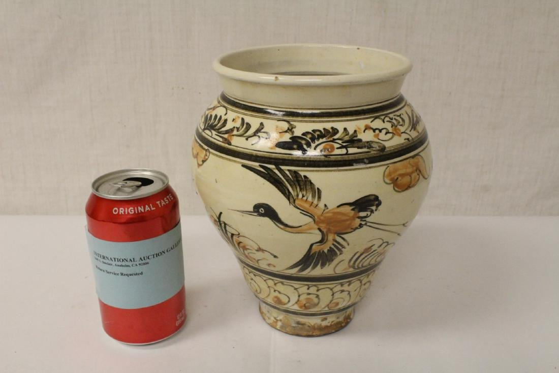 Chinese Song style painted jar - 2
