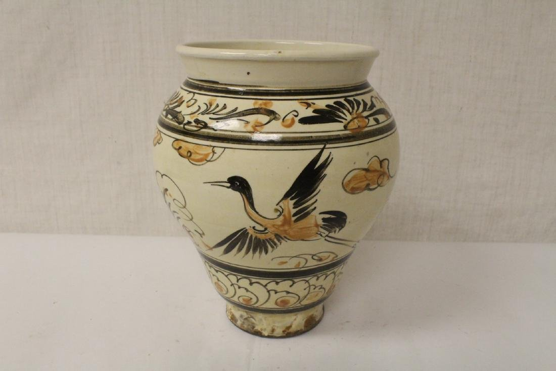 Chinese Song style painted jar - 4
