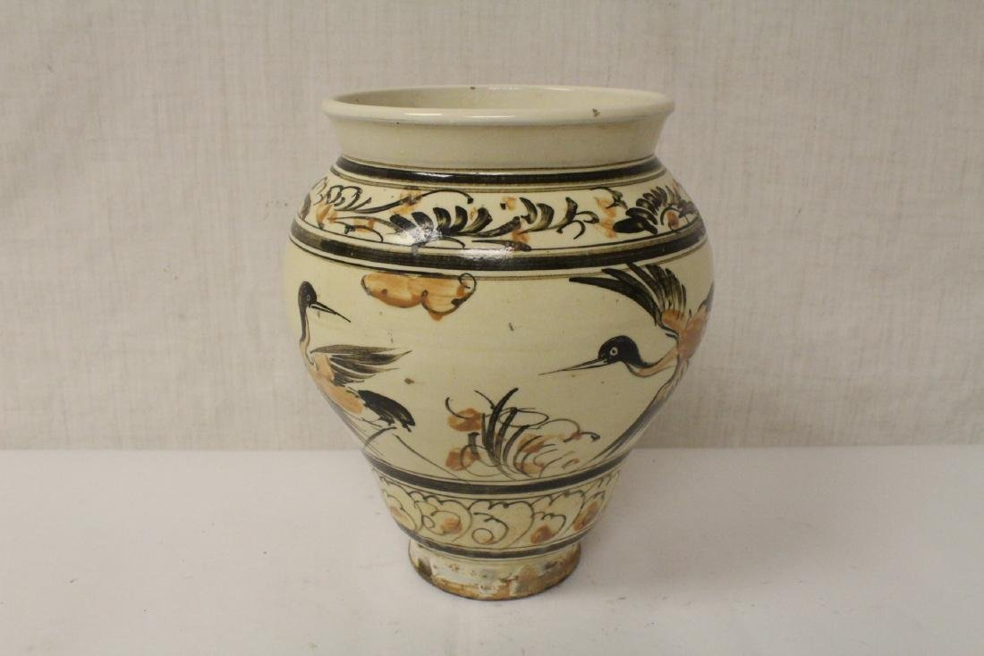 Chinese Song style painted jar - 5