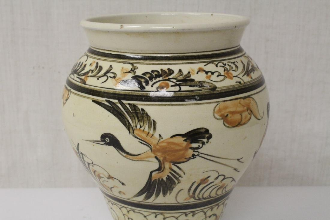 Chinese Song style painted jar - 6