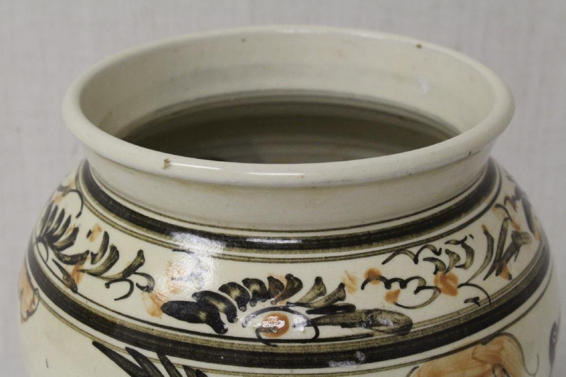 Chinese Song style painted jar - 8