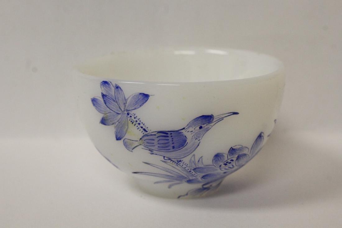 Peking glass tea bowl