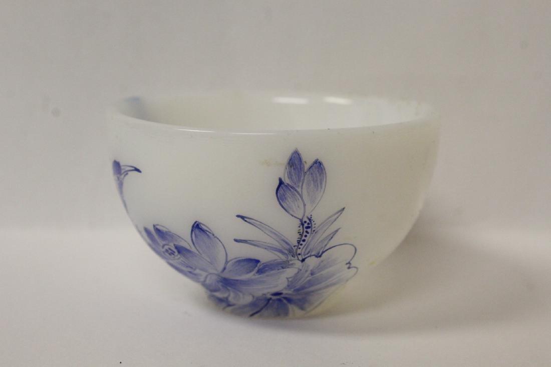 Peking glass tea bowl - 2