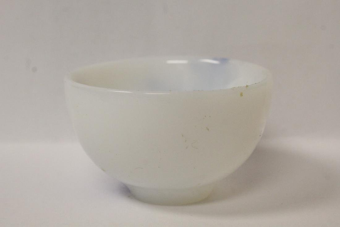 Peking glass tea bowl - 3
