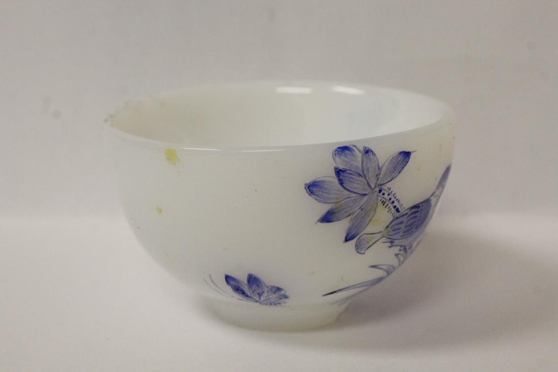 Peking glass tea bowl - 4