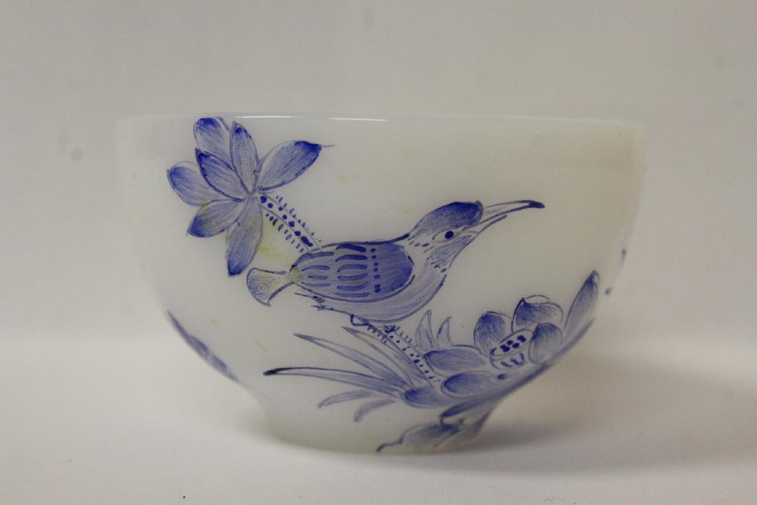 Peking glass tea bowl - 5