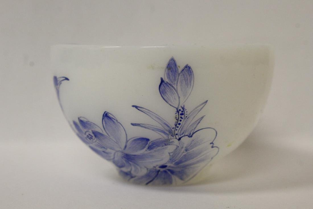 Peking glass tea bowl - 6
