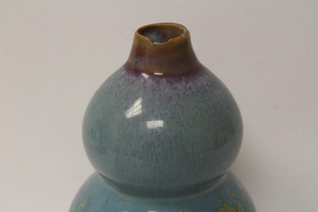 Song style gourd shape vase - 4