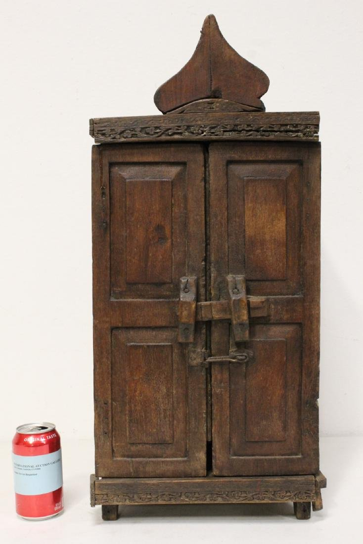 18th century Spanish colonial bookcase
