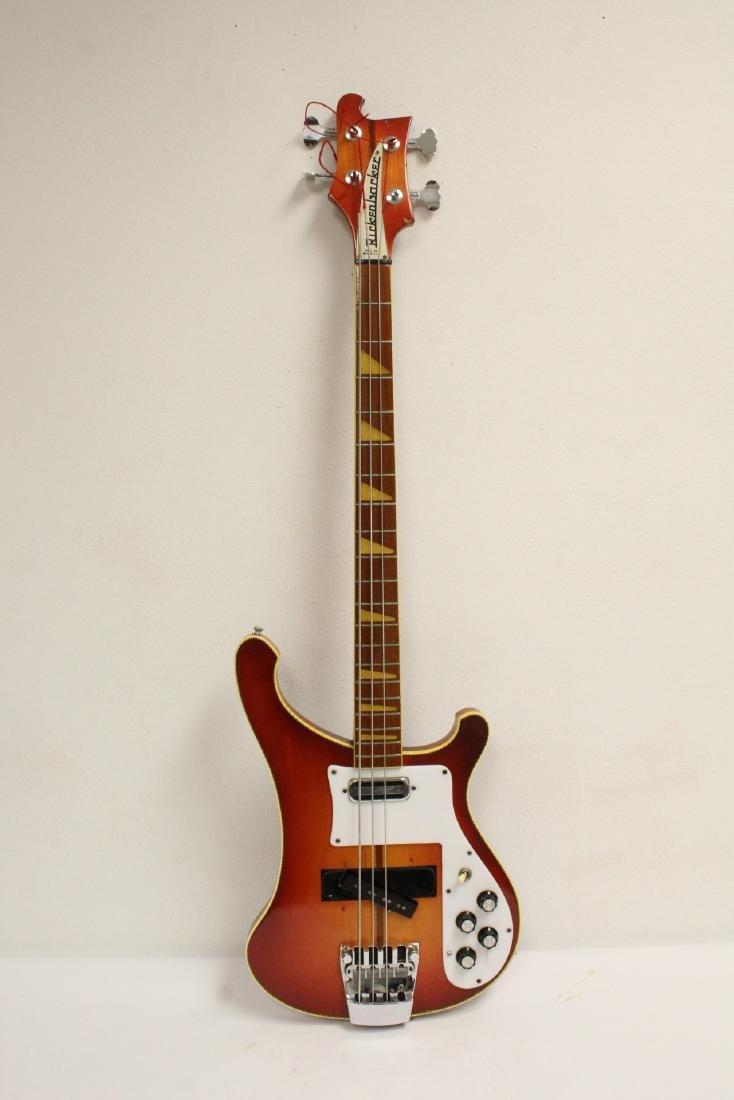 Model 4001 Rickenbacker bass guitar, c1975