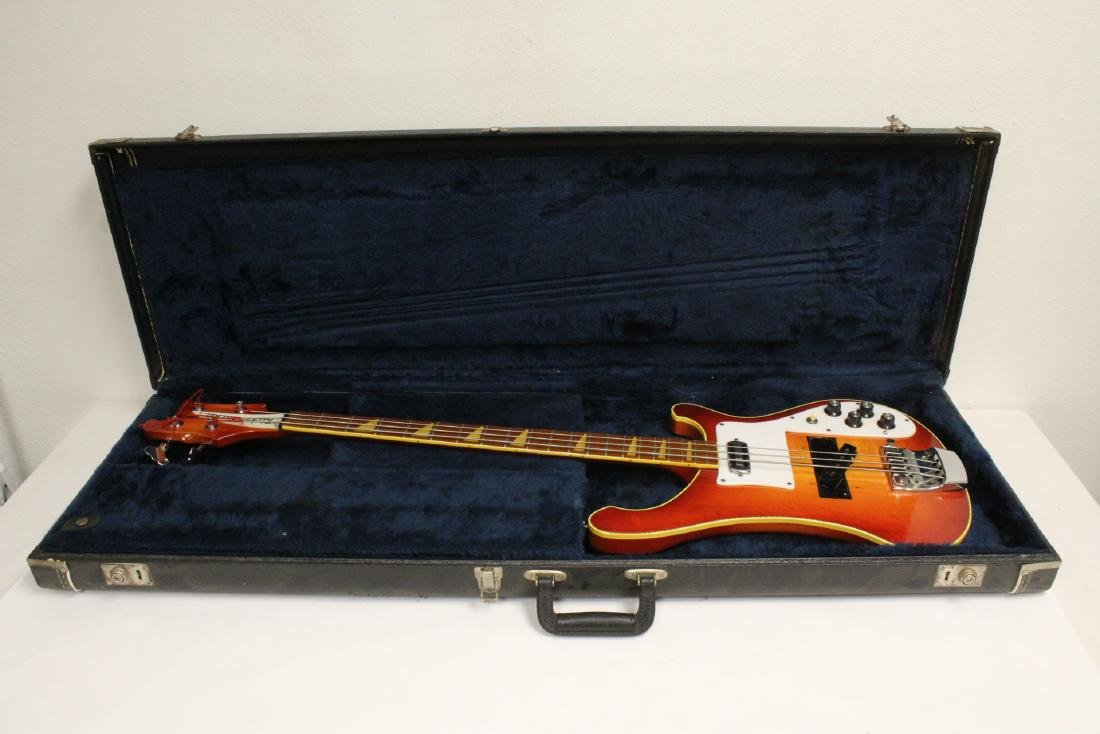 Model 4001 Rickenbacker bass guitar, c1975 - 2