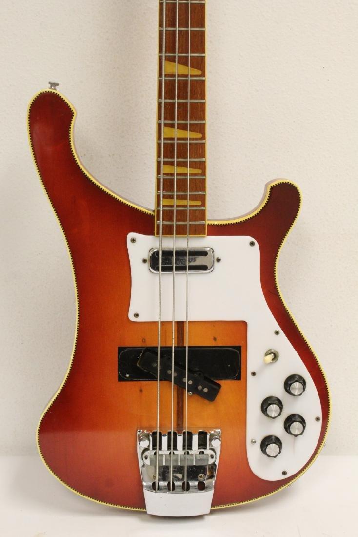Model 4001 Rickenbacker bass guitar, c1975 - 3