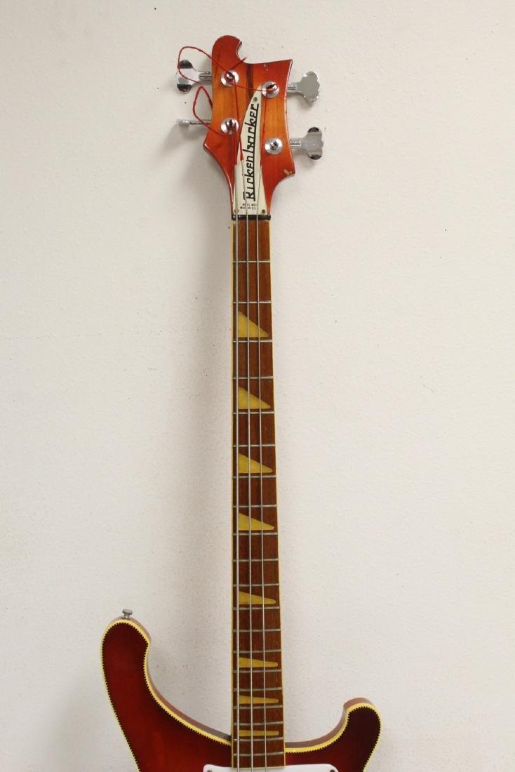 Model 4001 Rickenbacker bass guitar, c1975 - 4