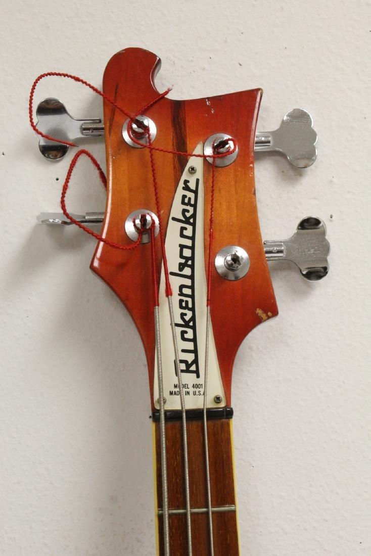 Model 4001 Rickenbacker bass guitar, c1975 - 5