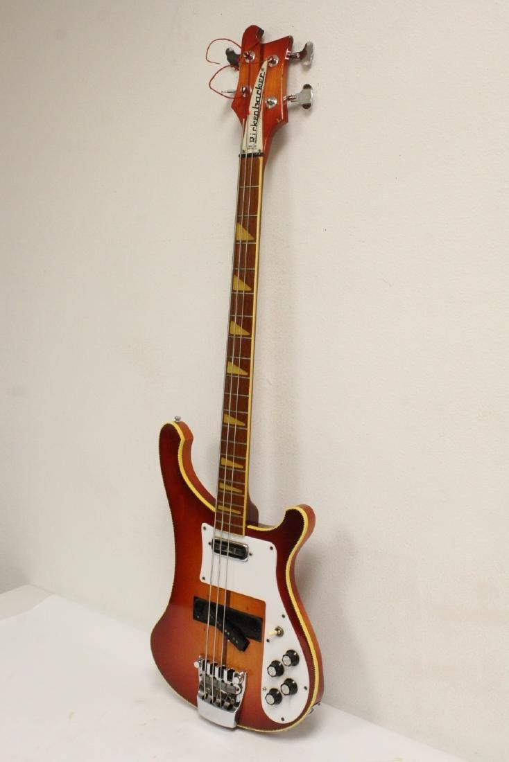 Model 4001 Rickenbacker bass guitar, c1975 - 8