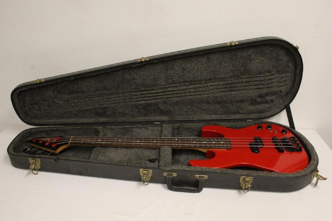 A BC Rich electric bass guitar - 2