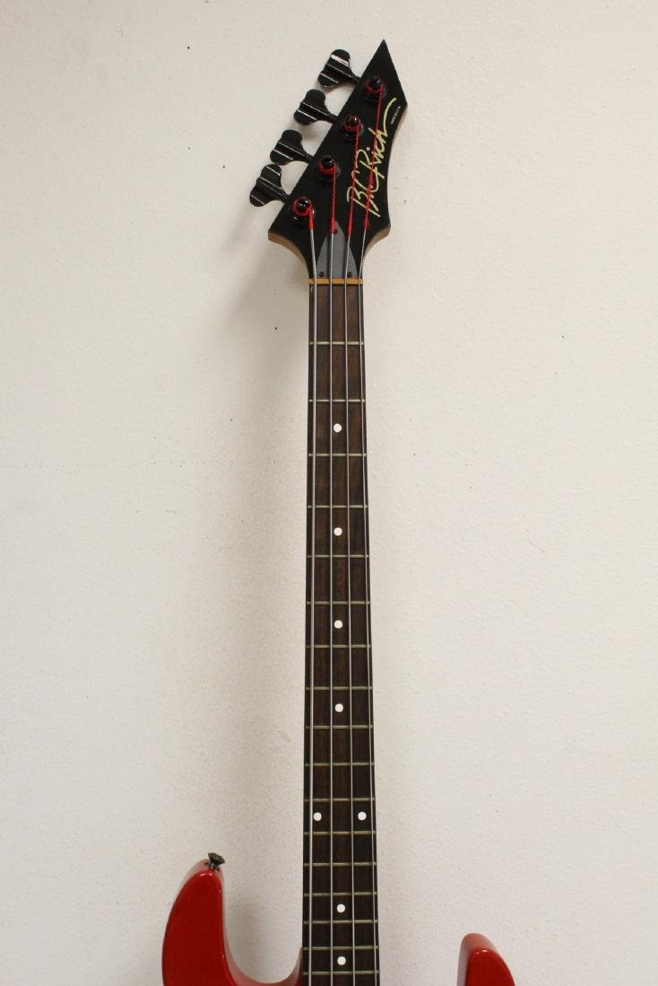 A BC Rich electric bass guitar - 4