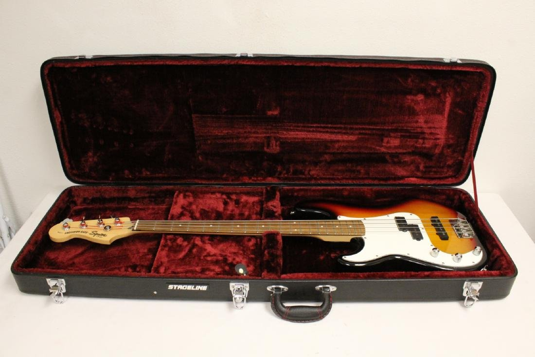 Fender squier bass guitar - 3