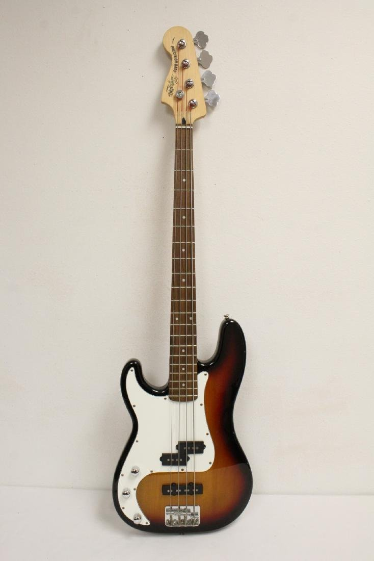 Fender squier bass guitar - 4