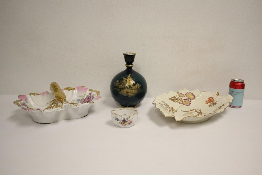 4 piece English porcelain