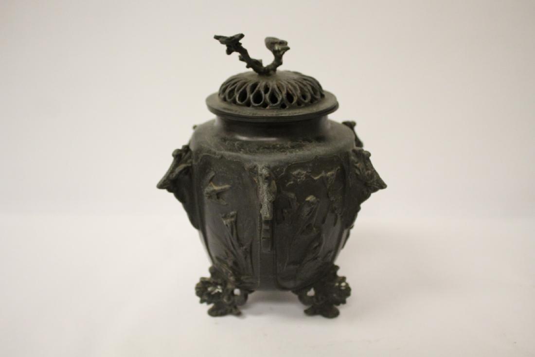 Antique Chinese bronze censer