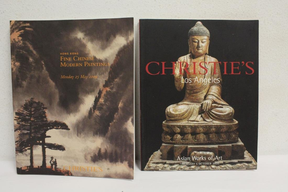 Lot of Christie's Chinese antique auction catalogs - 7