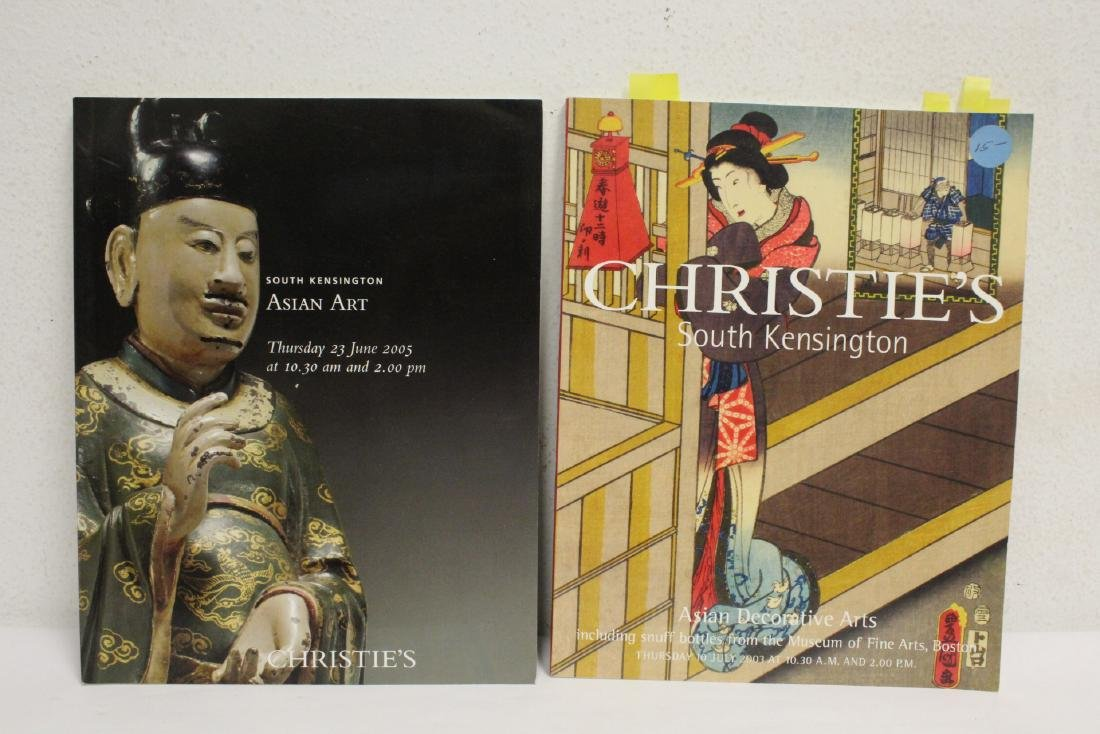 Lot of Christie's Chinese antique auction catalogs - 9
