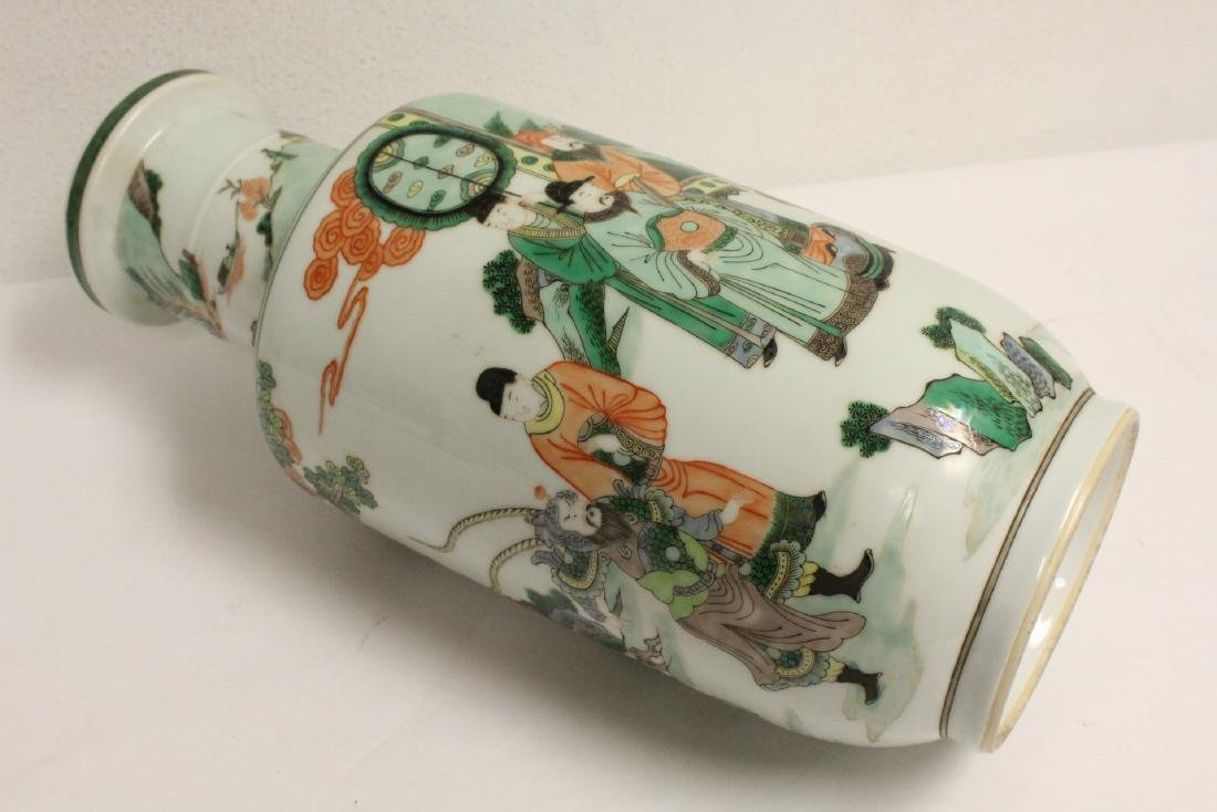 A beautiful Chinese famille rose porcelain vase - 10