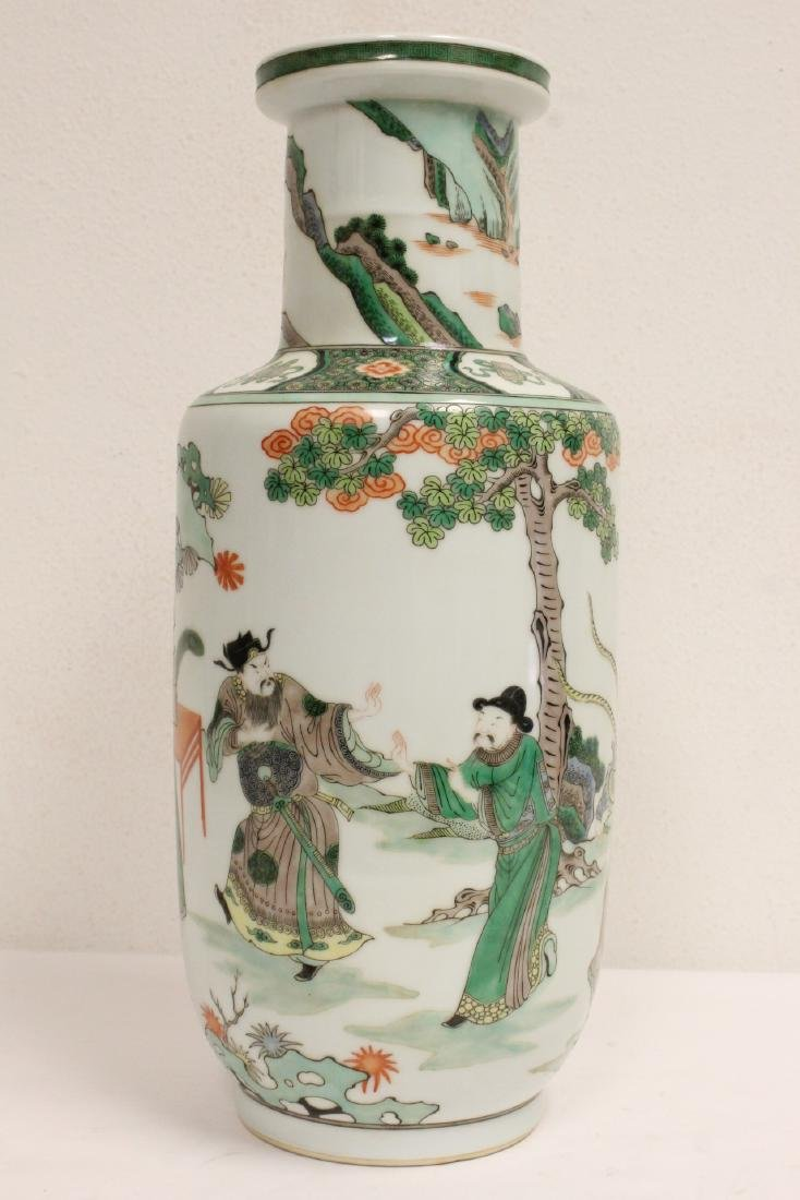 A beautiful Chinese famille rose porcelain vase - 3