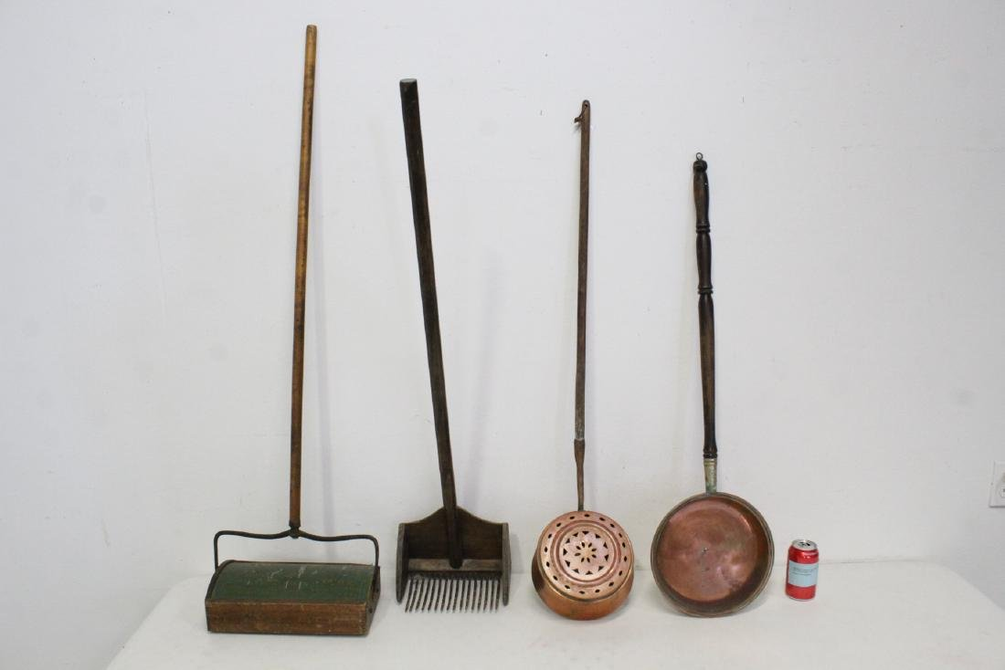 4 Victorian hand tools