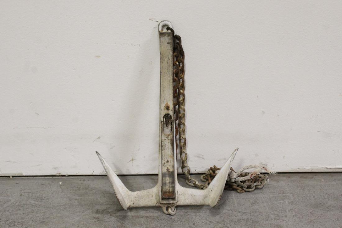 3 vintage anchors - 2