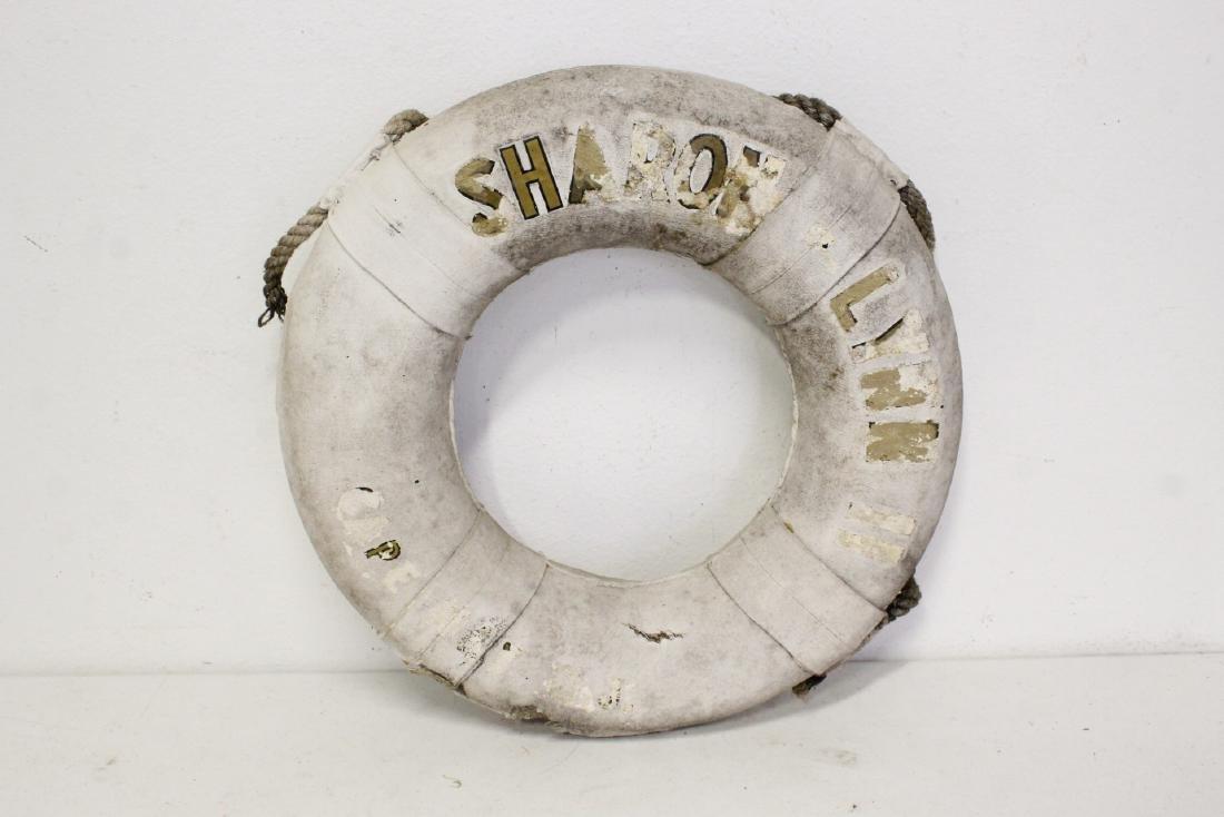6 vintage life buoy rings - 5