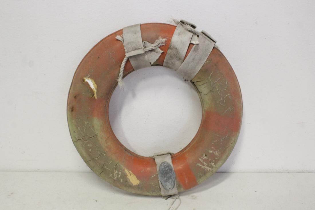 6 vintage life buoy rings - 7