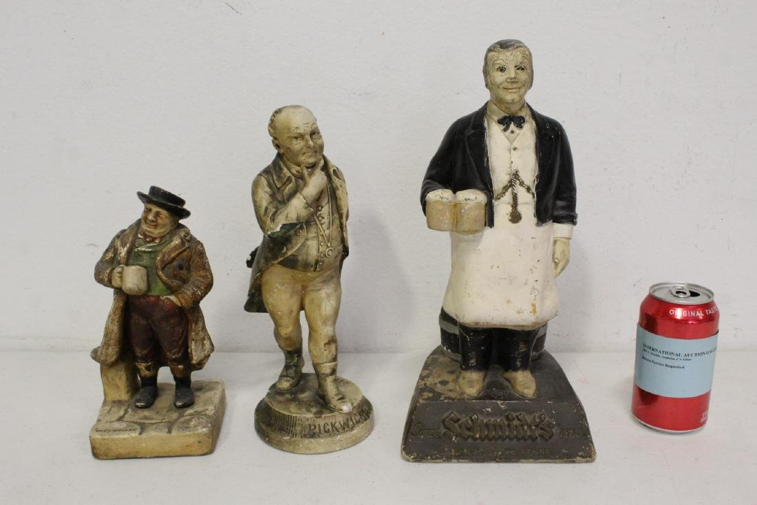 3 advertisement figures
