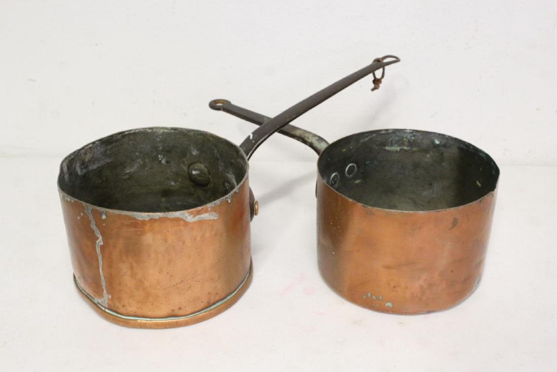 Large lot of copper pieces - 10