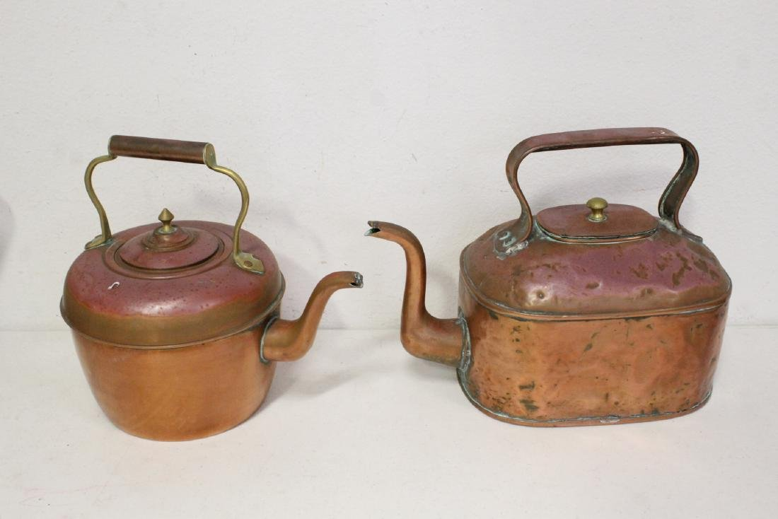 Large lot of copper pieces - 3