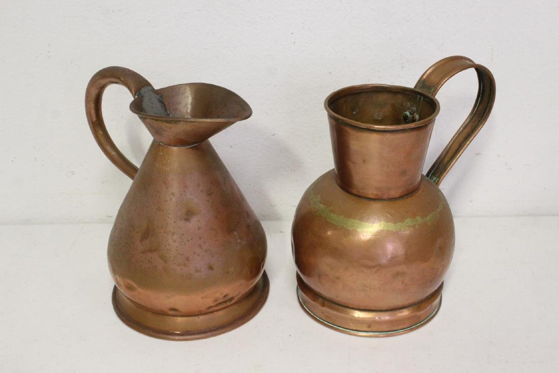 Large lot of copper pieces - 5