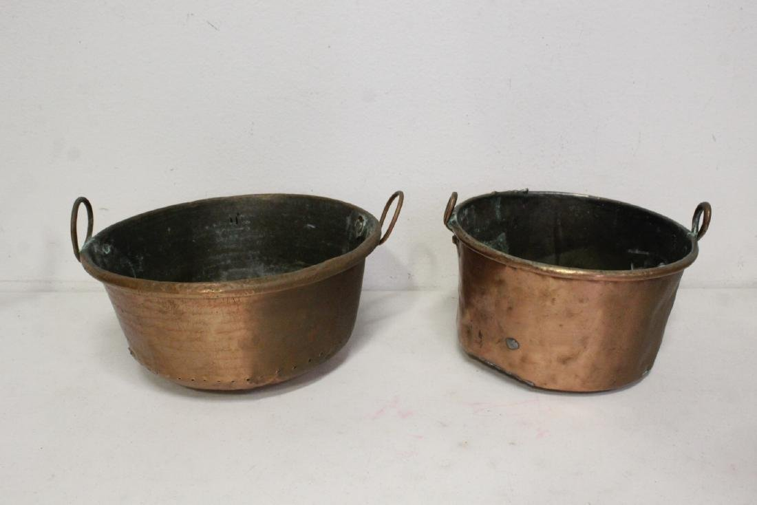 Large lot of copper pieces - 7