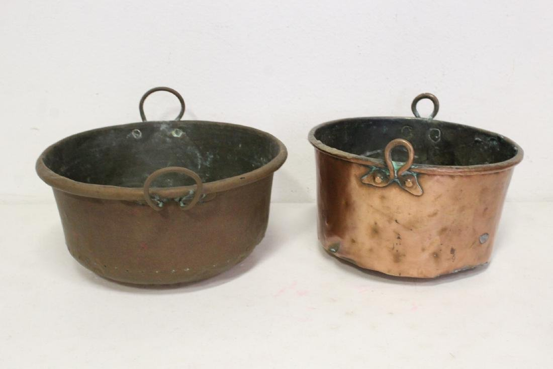 Large lot of copper pieces - 8