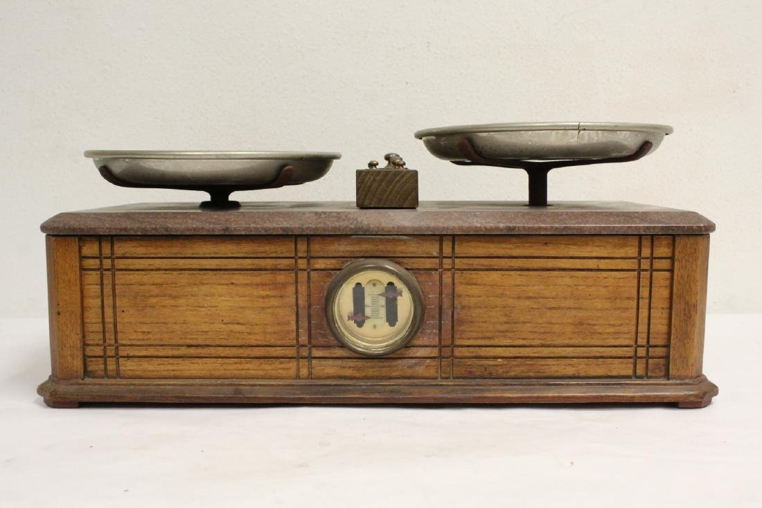 Victorian balance with weights - 2