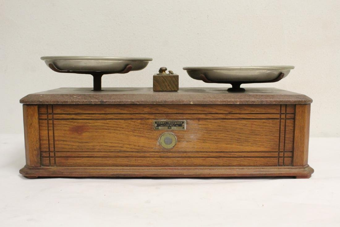 Victorian balance with weights - 5