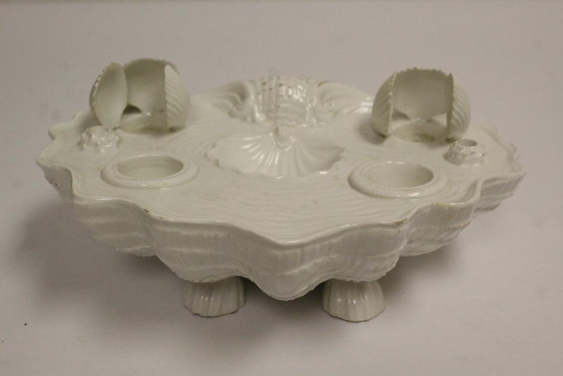 blanc de shin desk ornament & a Faberge Firebird vase - 9