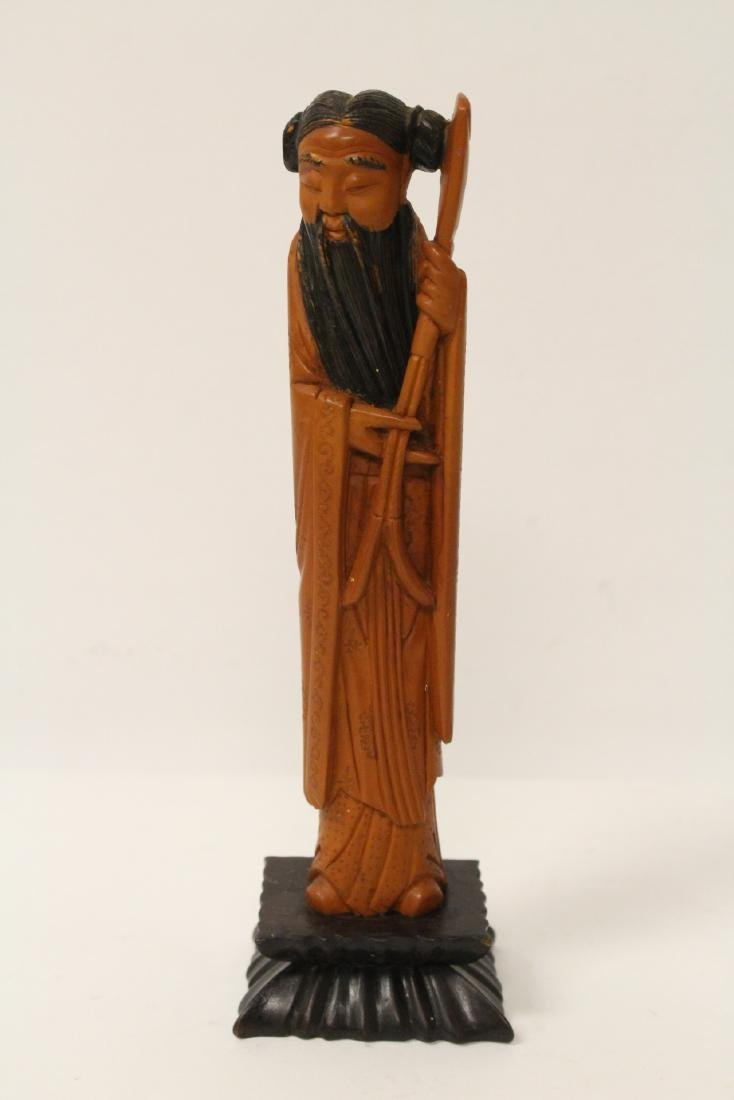 Possible huangyang wood carved figure